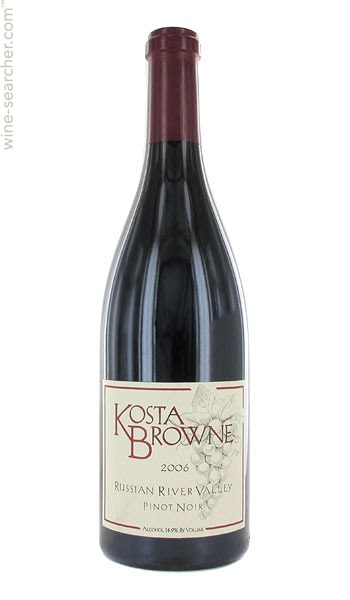 KOSTA BROWN PINOT NOIR 2016 GAP'S CROWN
